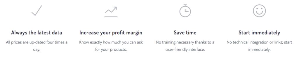 Competitor price tracker